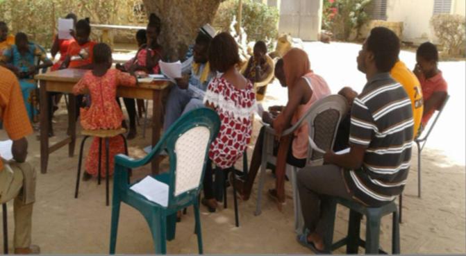 Au Sénégal... Rencontre des CVAV