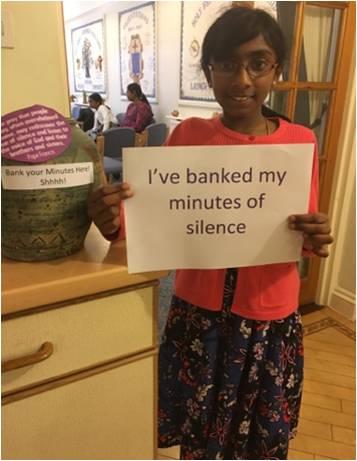 J'ai donné des fonds contre mes minutes de silence