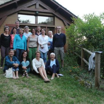 Les Laïcs Sainte Famille de Rodez en retraite