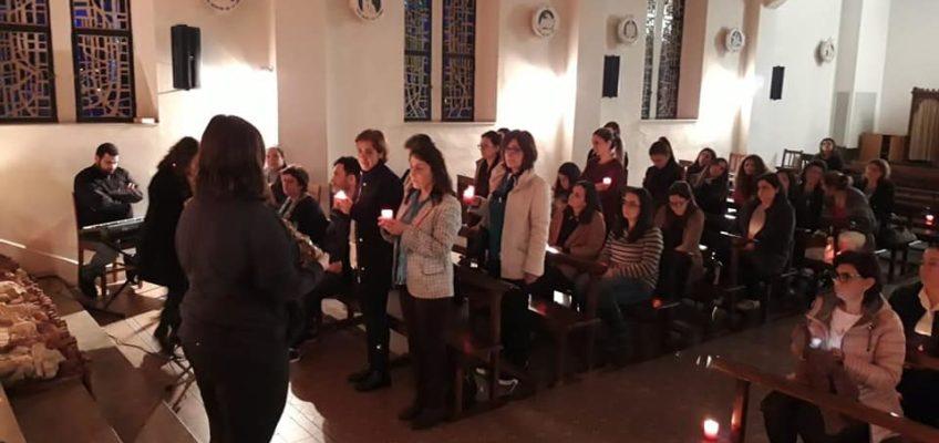 Prière à la chapelle