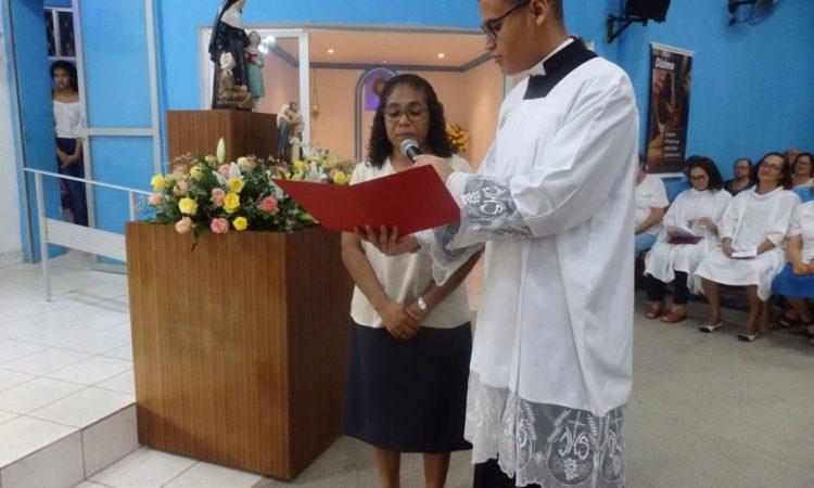 Sr Jane Luiz Bernardo lit son engagement