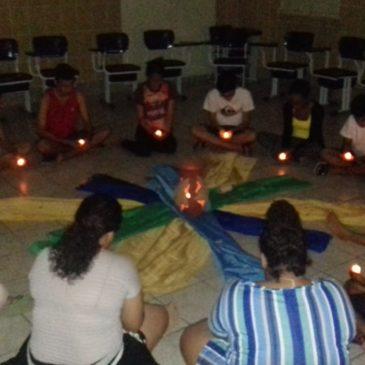 Retraite spirituelle de jeunes du Brésil