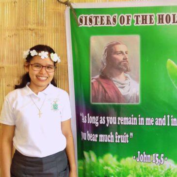 Première profession de Nemencia aux Philippines