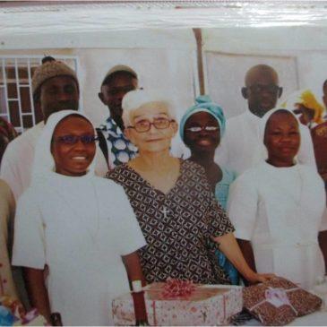 Départ de Sr Paulette Salga du Sénégal vers la France
