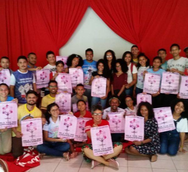 Groupe de jeunes formé contre les violences faites aux femmes