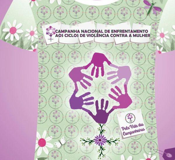 T-Shirt avec slogan contre les violences faites aux femmes