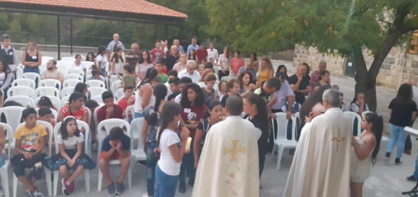 Célébration eucharistique : communion