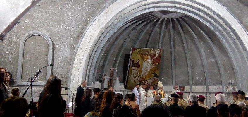 Église en restauration