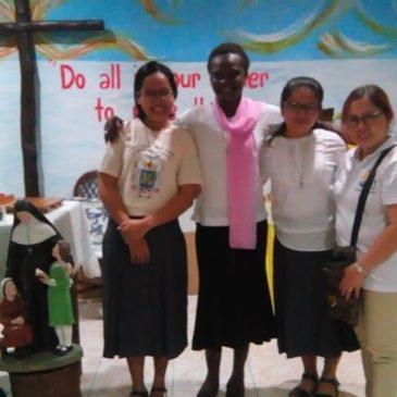 Sainte Émilie fêtée aux Philippines