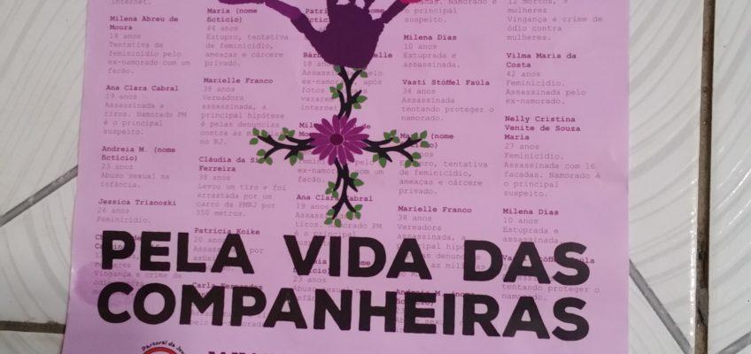 Affiche de sensibilisation contre les violences envers les femmes