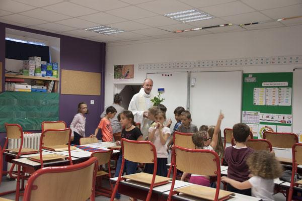 Bénédiction d'une classe