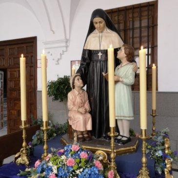 Sainte Émilie dans les rues de Cordoue