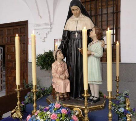 Sainte Émilie au collège à Cordoue