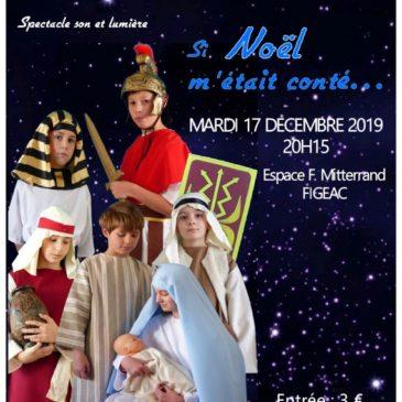 Noël raconté en costumes à Figeac