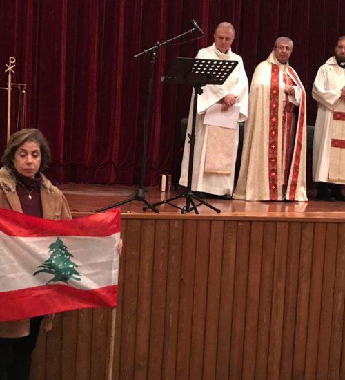 Prière pour le pays du Liban