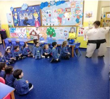 En maternelle au Liban, réflexion sur la force, la fragilité et la violence