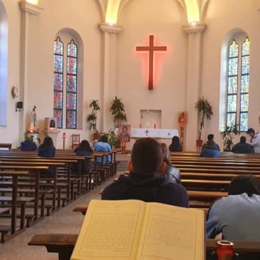 Halte spirituelle proposée aux élèves libanais