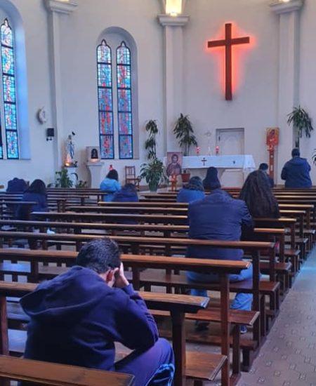 Prière intériorisée des jeunes