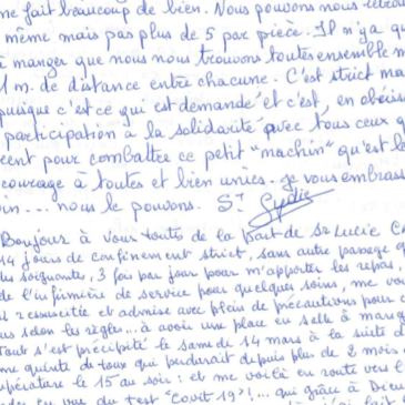 Journal de Confinement …. suite et fin