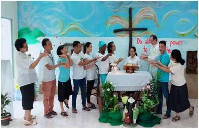 Vœux renouvelés aux Philippines