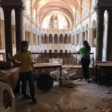 Les jeunes de nos écoles au Liban aident, à Beyrouth