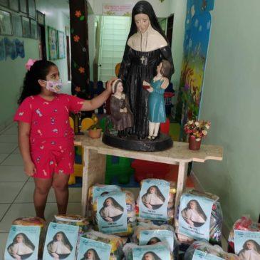 A Goiana, le partage souligne la fête de Sainte Émilie (fr/br)