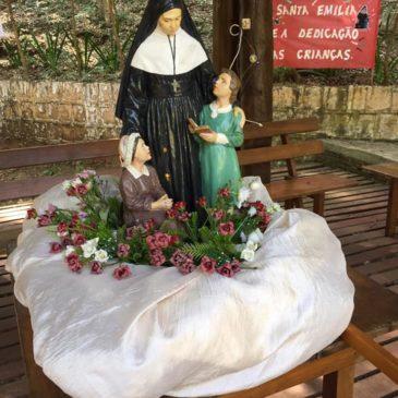 23e pèlerinage à Sainte Émilie au Brésil à Siqueira Belo
