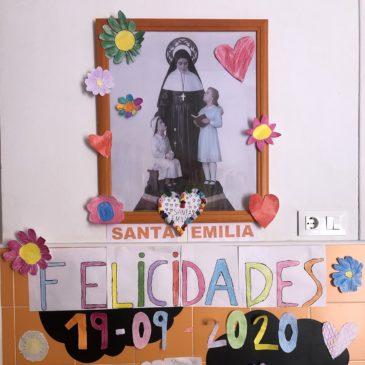 En Espagne on fête Sainte Émilie à l'école d'Alcazar de San Juan (fr/esp)