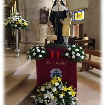 A Argamasilla de Alba, la fête de Sainte Émilie  appelle à l'espérance (esp/frs)