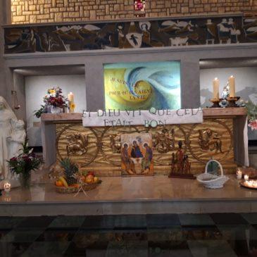 A Villefranche-de-Rouergue, la fête de Sainte Émilie a pour thème la Création (frs/Eng/esp)
