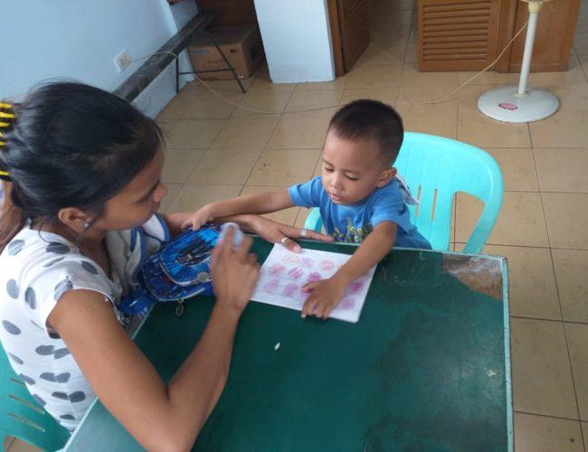 Atelier mamans et enfants