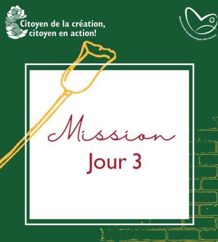 Affiche de la mission