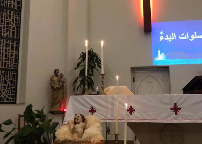Le petit Jésus acueilli