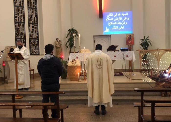Le prêtre venu célébrer