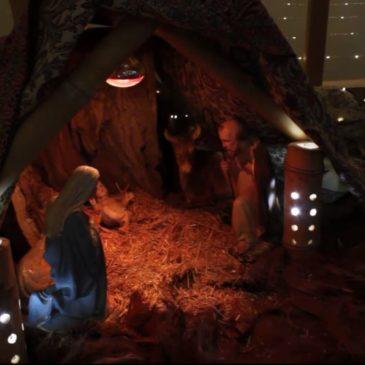 Illumination de la crèche de Jounieh