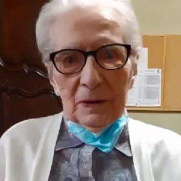Une centenaire à Sainte-Claire