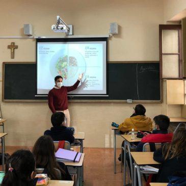 Sensibilisation sur la nutrition aux élèves d'Espagne (frs/esp)