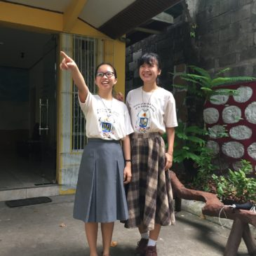 Nga nouvelle postulante à Manille (frs/Eng)