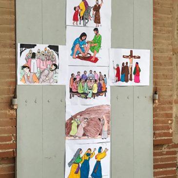 Jeudi Saint à l'école de Moissac