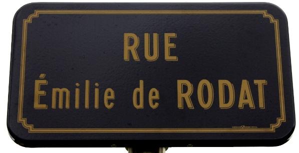 Une nouvelle rue au nom de Sainte Émilie