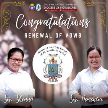 Cérémonie de renouvellement de vœux aux Philippines