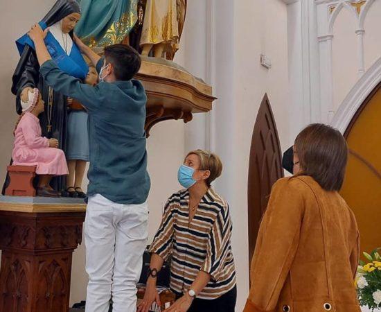 Sainte Émilie est fêtée et remerciée